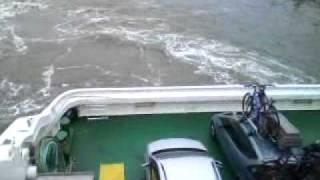 Fährenfahrt von dagebüll nach wittdün (amrum)
