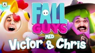 Hvem er BEST i Fall Guys season 2 - med STRAFF!!  (LIVESTREAM)
