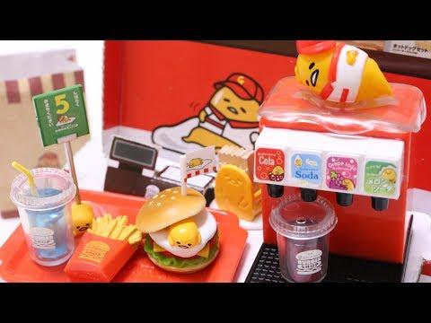 Doraemon Rement Miniature Burger Shop Breakfast Take out Hot Dog No.3