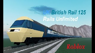 UK British Rail 125 Rails Unlimited Roblox