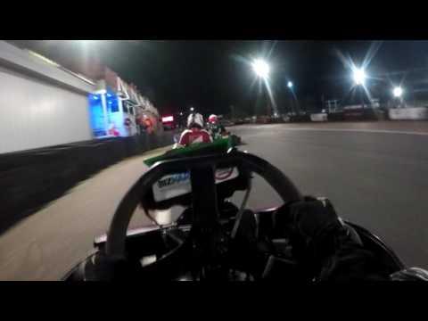 Rye House 12 hour overnight endurance kart race - stint 1 (Tommy Valentine)