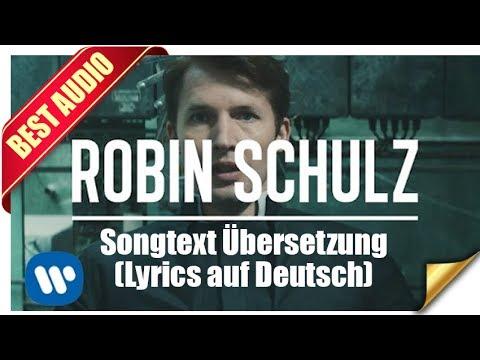 OK Von Robin Schulz ft. James Blunt - Songtext Übersetzung (Lyrics auf Deutsch)