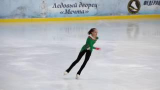 Анна Тарусина, ПП, Первенство Москвы 2017, старший возраст