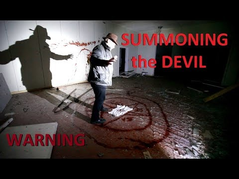 Summoning the Devil! (HALLOWEEN EPISODE) Warning Not for Easily Disturbed - Urban Exploration