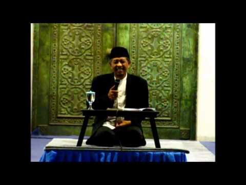 Kiai Luqman Hakim 11 Des 2013 - Pengajian Tasawuf kitab Al Hikam di Masjid Bank Indonesia