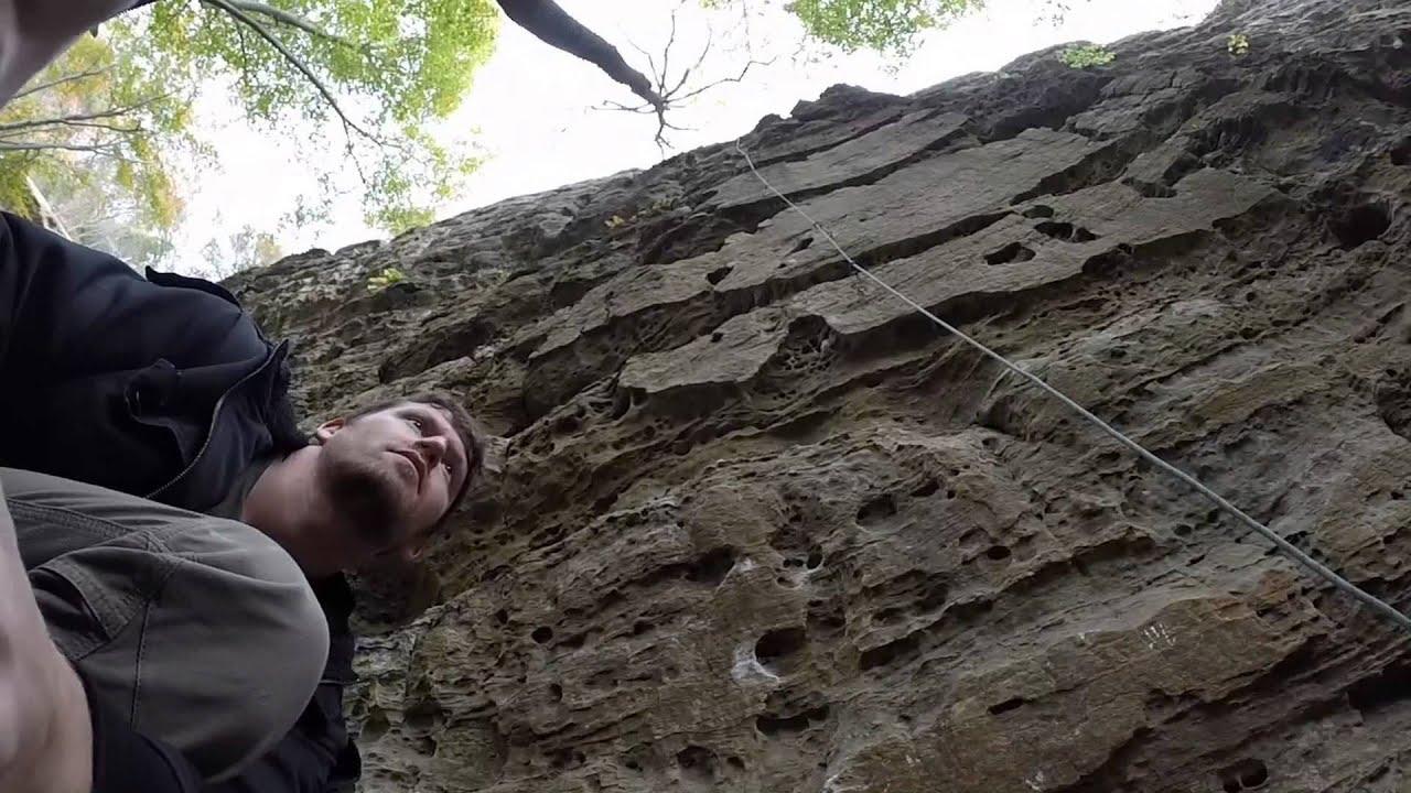 Climbing Trip Red River Gorge Kentucky Usa