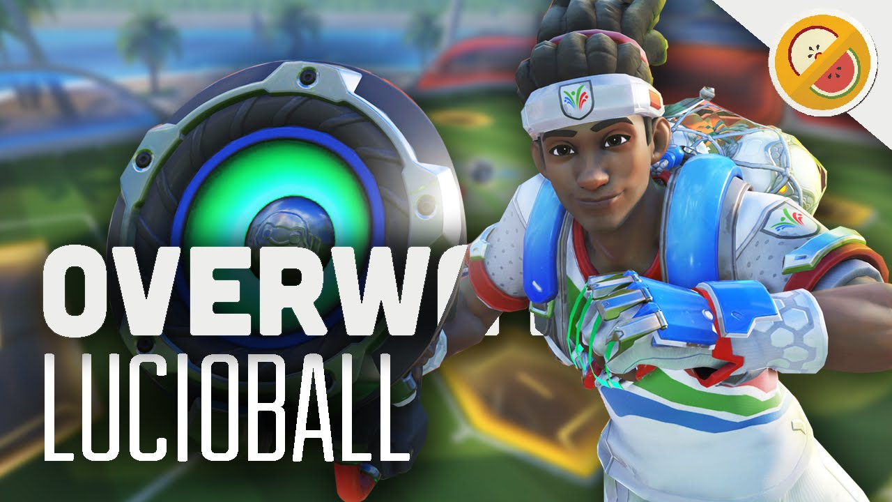 Lucioball Overwatch Summer Games Update Brawl Gameplay Funny