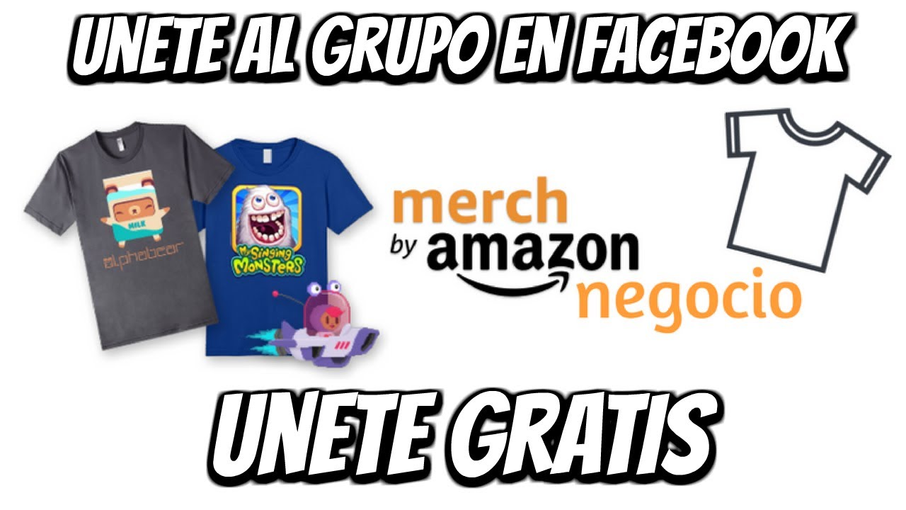 Nuevo Grupo Merch By Amazon Negocio - Unete Gratis - YouTube 0aeb9c61e90db