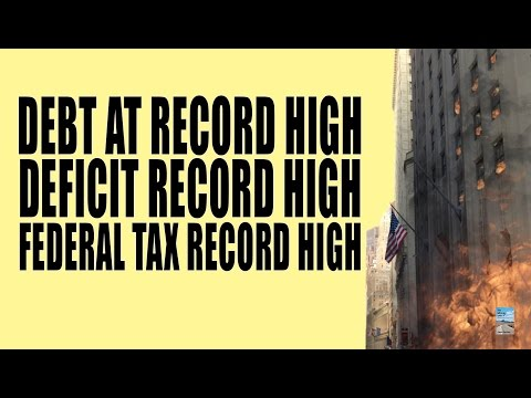 Government Debt Hits Record High Despite Record High Taxes! Here's Why.