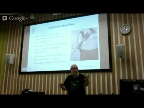 Peter Wood 1302-13 Talk On Cloud Security%2C Social Networking and BYOD Sussex England