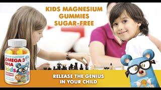 Omega 3 Gummies for Kids &…