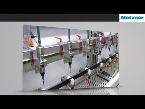 Automatic Drilling Machine for Rubber Profiles | Metzner