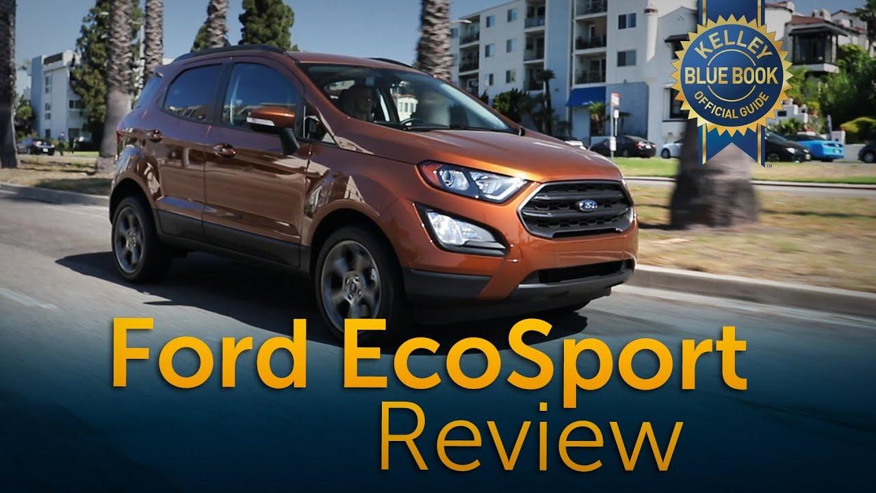 2019 ford ecosport review road test youtube. Black Bedroom Furniture Sets. Home Design Ideas