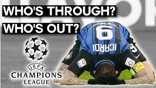 UEFA Champions League Recap: Who's Through, Who's Eliminated, and Who's Going to the Europa League?