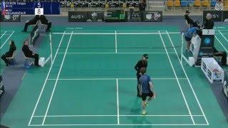 Tanguy Citron vs Reksy Aureza Megananda (MS, Qualifier) - Orleans Intl. 2016