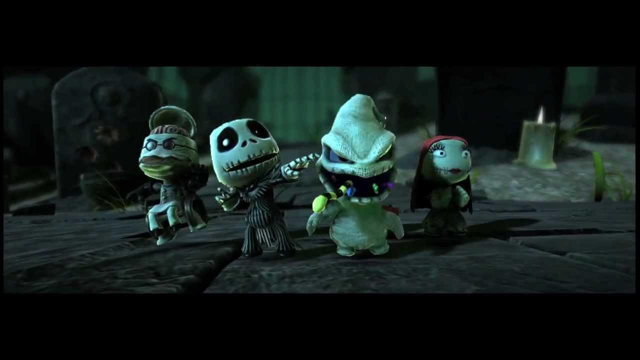 LittleBigPlanet DLC: The Nightmare before Christmas - YouTube