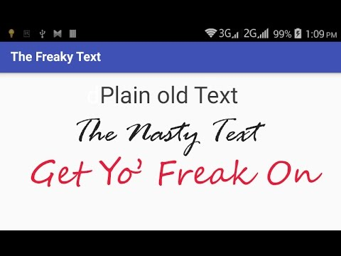 Using Custom Font In Android App Tutorial With Example