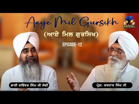 Fateh Tv    Aaye Mil Gursikh    Prof  Kartar Singh...