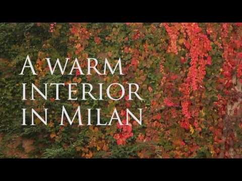 A warm interior in Milan - Architecture on the web