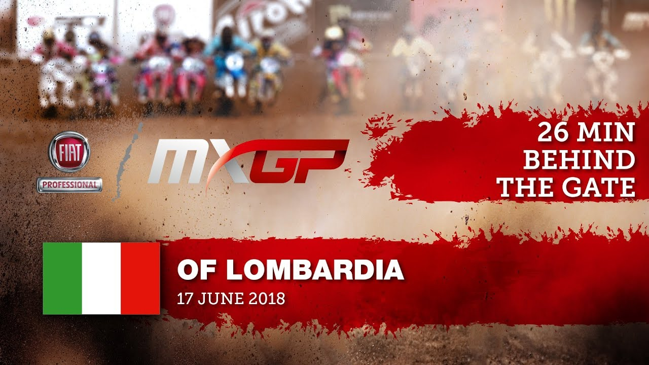Studio Show from the Fiat Professional MXGP of Lombardia 2018