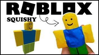 I Do ROBLOX Squishies Paper... and sponge 2019 (Roblox Papercraft)