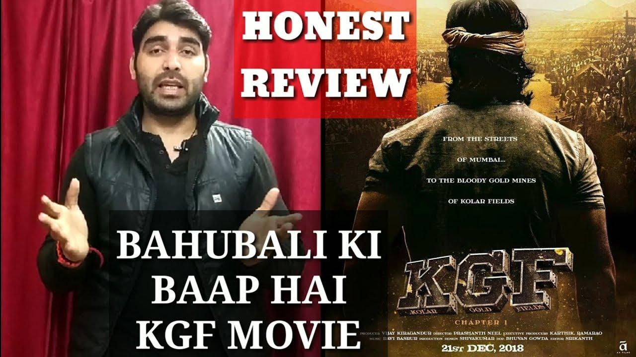 Kgf Movie Breaks Bahubali Record Honest Hindi Review Youtube
