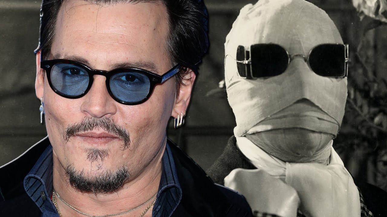 Image result for invisible man johnny depp