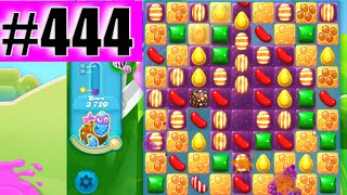Candy Crush Soda Saga Level 444 NEW | Complete!