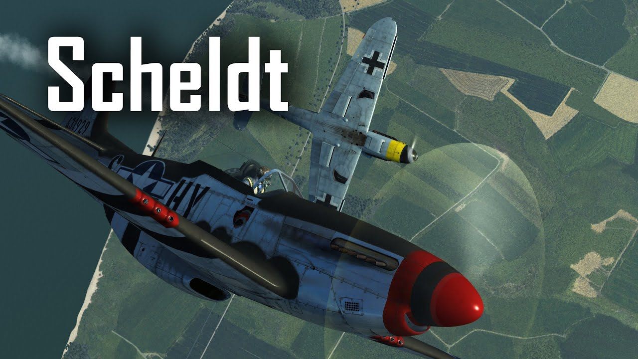 Battle of the Scheldt - P-51D Mustang - IL-2: Great Battles