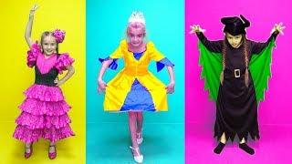 Las Ratitas se visten con disfraces de princesas Dress up for kids