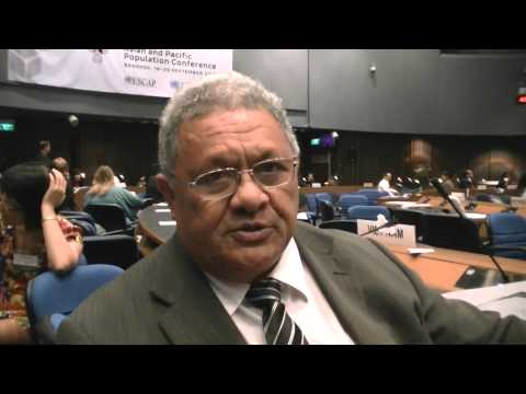 Cook Islands: Minister for Health, Nandi Glassie