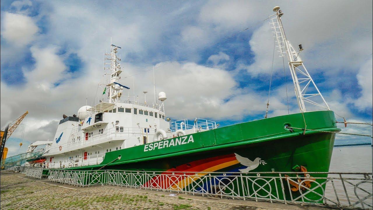 Como funciona um navio do Greenpeace #Boravê