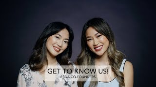 GET TO KNOW US ft. ESQA CO-FOUNDERS | INDO SUBS | BLOOPERS | ESQA COSMETICS