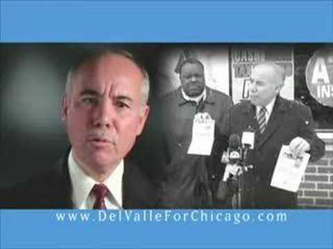 Chicago City Clerk Miguel del Valle