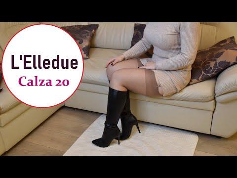 L'ELLEDUE CALZA 20 DEN STOCKINGS