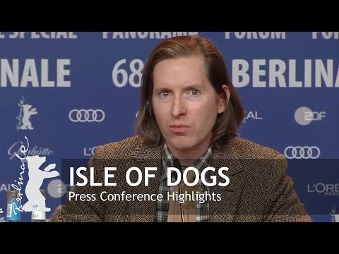 Isle of Dogs | Press Conference Highlights | Berlinale 2018 en streaming