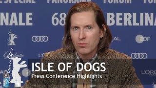 Isle of Dogs | Press Conference Highlights | Berlinale 2018 Poster