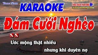 Đám Cưới Nghèo Karaoke 123 HD (Tone Nam) - Nhạc Sống Tùng Bách