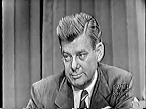 What's My Line?  Arthur Godfrey Mar 30, 1952