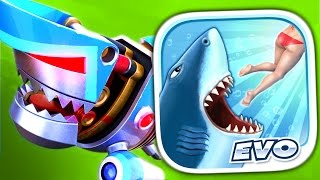 ROBO SHARK - Hungry Shark Evolution - Part 9 (iPhone Gameplay Video)