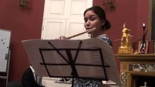 Франк Мартен  -  Баллада -  Дарья Дягилева (флейта)