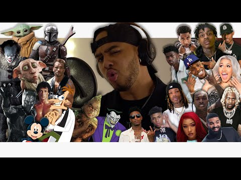 Hit Rap Songs in Voice Impressions 3! ft. Polo G, Dababy, Lil Nas X, Pooh Shiesty, + MORE