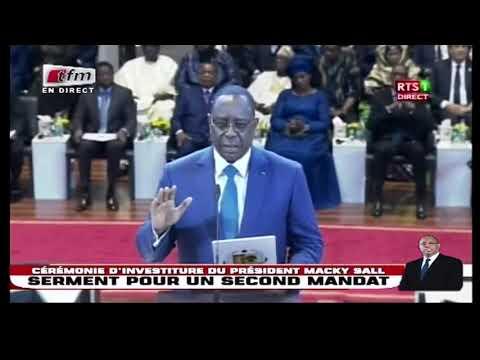 Ecoutez la prestation de serment du Président Macky SALL à Diamniadio