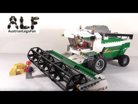 Lego City 7636 Combine Harvester / Mähdrescher - Lego Speed Build Review