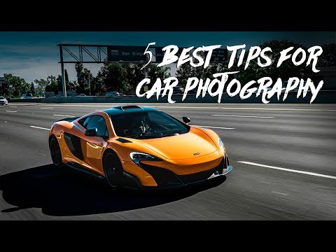 THE BEST 5 TIPS FOR CAR PHOTOGRAPHY 👍