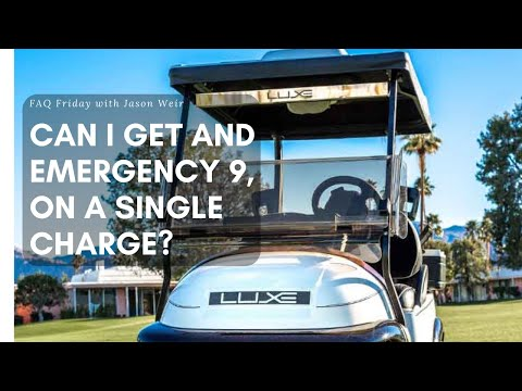 WARNING - How Long Should My Charge Last On My Golf Cart Batteries?
