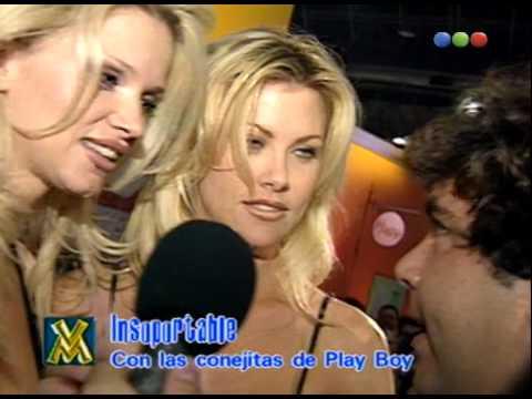 El Insoportable con las conejitas de Playboy - Videomatch 98