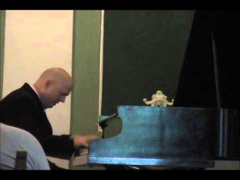 Steven Spooner plays Liszt's Totentanz, Paraphrase of Dies Irae, part 1 of 2