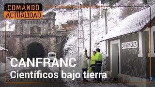 Un laboratorio científico debajo del túnel que unía España y Francia | Comando Actualidad