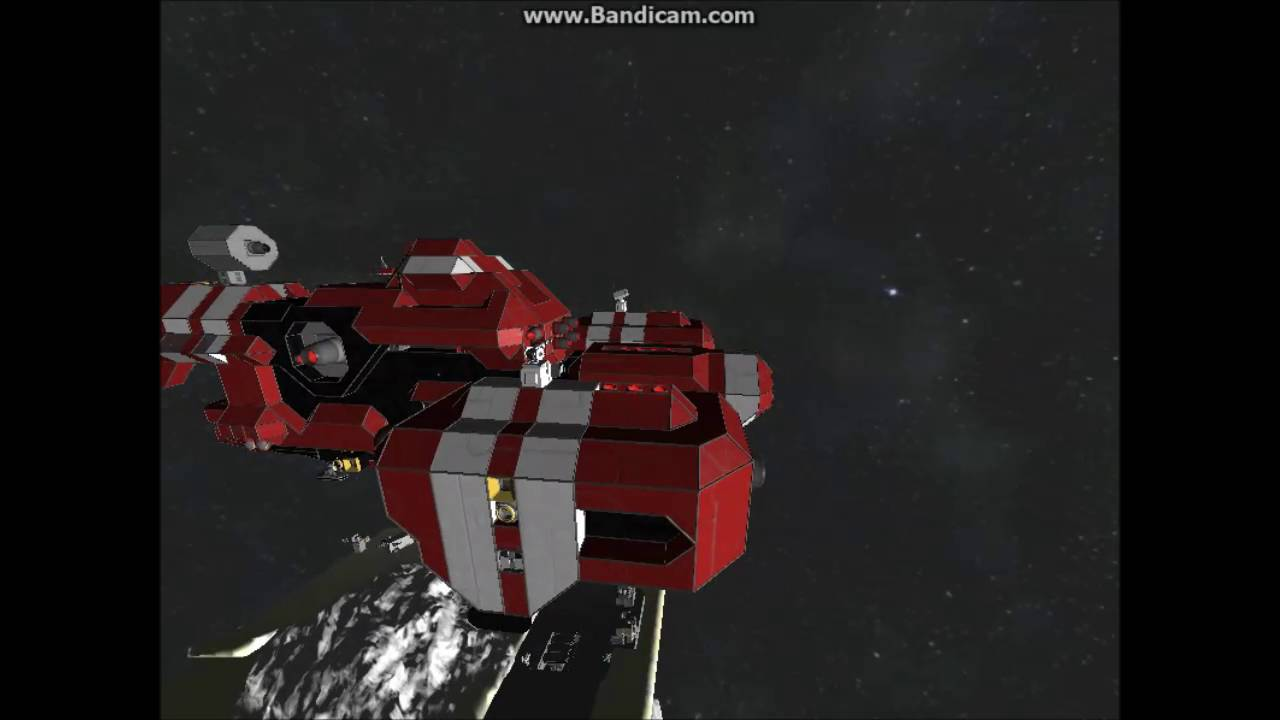 Space Engineers What happens ~100 Light years away from ...